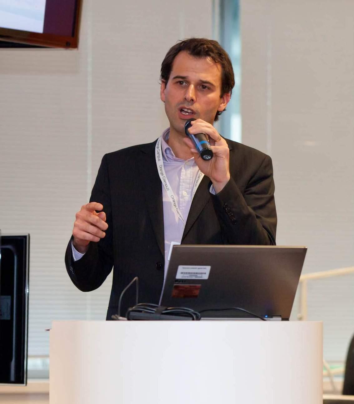Hugues Duez, account manager chez Orange Business Services