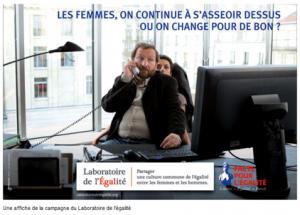 Affiche Laboratoire pour l'Egalité