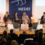 Table Ronde : Carole Couvert (CFE-CGC) et Brigitte Dumont (ANDRH)
