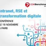 De retour de la conférence Intranet, RSE et transformation digitale